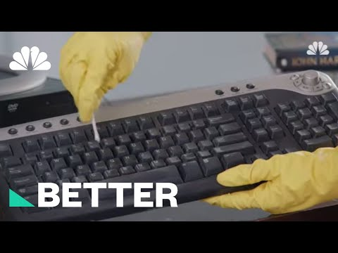 How To Clean Your Keyboard, Including Your Macbook Or Macbook Pro Keyboard | Better | NBC News