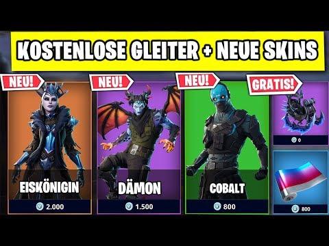 KOSTENLOSER Eiskönigin Gleiter 🎁 Neue Skins und Tänze | Fortnite Season 7 Deutsch