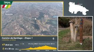 Primera etapa del Camino de Santiago en La Rioja, Logroño. Disfruta La Rioja