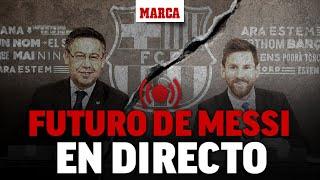 Messi se va del Barcelona: última hora EN DIRECTO