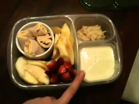EasyLunchboxes Fan, Heather: Healthy Packed Lunch For A Child With Milk Allergy!