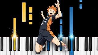 Haikyuu OP1 Imagination EASY Piano Tutorial