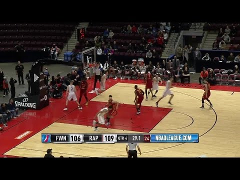 Fort Wayne Mad Ants with 21 3-pointers against the 905
