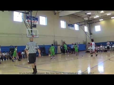 14 y/o Camden Thompson Highlights, Bay Area Sports Tournament of Champions, 2017
