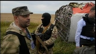 Downed Malaysia Airlines Flight MH17:  Securing the Site
