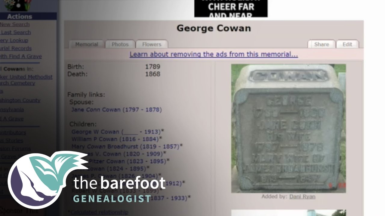 Find A Grave: Linking Families | Ancestry