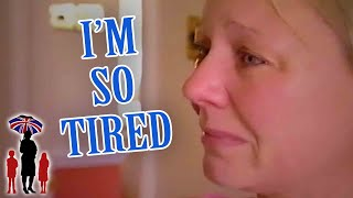 Supernanny | Exhaustion Makes Mom Break Down!
