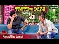 CRAZIEST Truth or Dare With Akshara Haasan and Abi Mehdhi Hassan on Natchathira Jannal