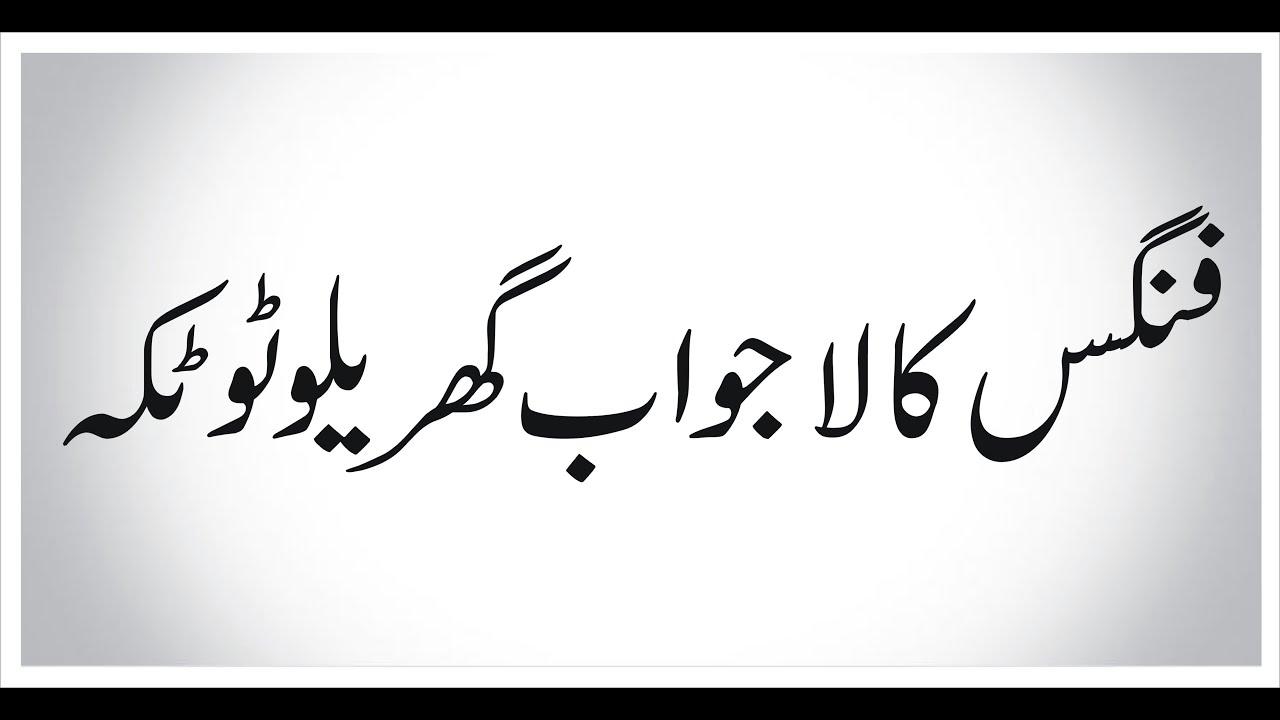 Fungus Ka Lajawab Totka Desi Urdu Totkay Must Watch