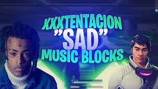 "So i made ""SAD"" by ""XXXtentacion"" in Fortnite (+Code)"