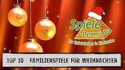#Top 10 - Weihnachten 2018 - Familienspiele empfohlen aus der Spiele-Pyramide