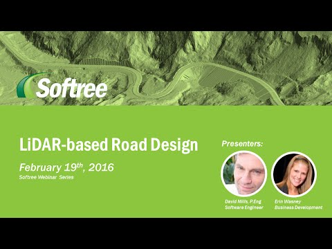 Webinar - Lidar-based Resource Road Design
