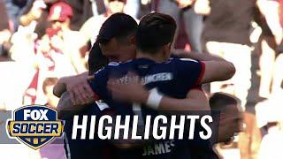 Bayern celebrate Bundesliga title after win over Augsburg | 2017-18 Bundesliga Highlights