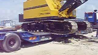 Loading Crane into trailer Sept 30 2008