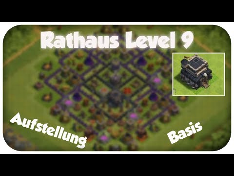 Clash Of Clans| Rathaus Level 9 Verteidigung (mit Bombenturm) |FlashmixLP