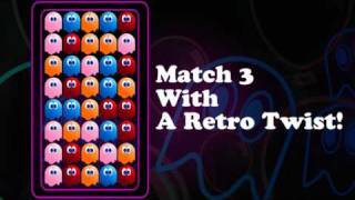Pac-Match Party for iPhone Gameplay Trailer