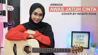 Download AWAS JATUH CINTA - ARMADA (COVER BY REGITA ECHA)