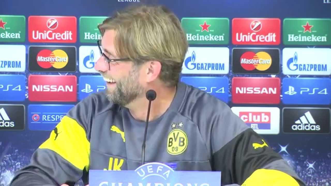 Pressekonferenz: Jürgen Klopp und Pierre-Emerick Aubameyang vor RSC Anderlecht - BVB | BVB