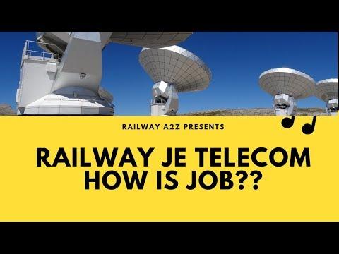 Railway JE Telecom/Telecommunication Job Profile, Promotion| How Is Job??