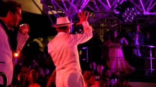 NKOTB Cruise 2013 - Retro Red Carpet Night #3 - Guys on mini stages