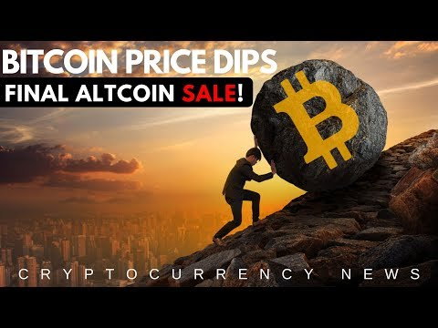 Bitcoin Price Dips, Altcoins at All-Time Low! Cryptocurrency Market Update and News