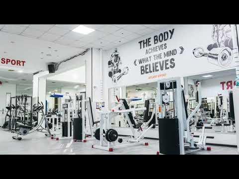 Новый дизайн 2020 фитнес клуба ATLANT SPORT