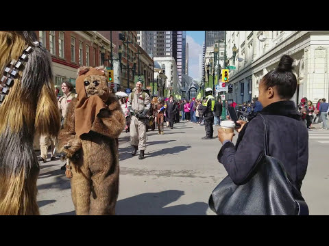 Calgary Expo Parade Of Wonders 2017