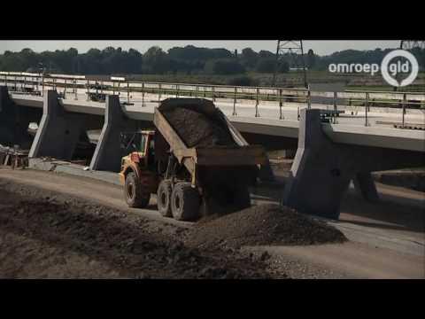 Omstreden hoogwatergeul tussen Veessen en Wapenveld eind 2016 klaar