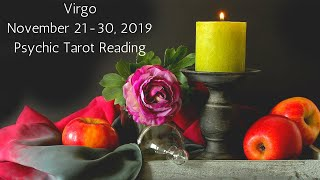 Virgo, The Power That's Gracing You Is The Stuff Of Legends // Psychic Tarot Reading