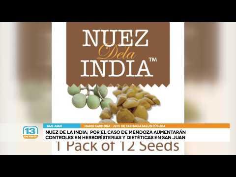 Nuez de la India: Por lo ocurrido en Mendoza, intensificarán controles en herborister