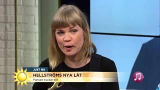 """Premiärspelning av Håkan Hellströms nya låt """"Din tid kommer"""" - Nyhetsmorgon (TV4)"""