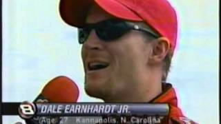 2002 Protection One 400 - Junior Reveals Concussion & NASCAR Changes Concussion Policy