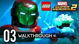 LEGO Marvel Super Heroes 2 | Gameplay Walkthrough | PART 3 - Avenger