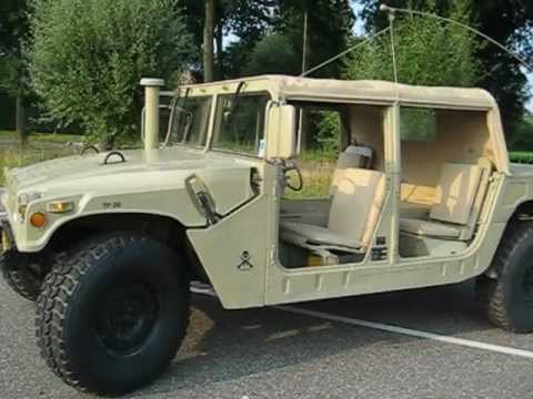 SOLD...very nice and original M998 HMMWV desert 4 door soft top : humvee doors - pezcame.com