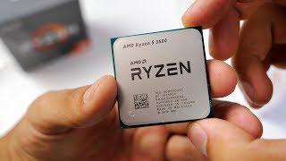 ПК на AMD RYZEN 5 3600 (Zen 2) VS Ryzen 5 2600 - ТЕСТ!