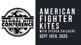 WFGKC - Flight of the American Fighter Kite - with Steven Childers  - Virtual Recording Session