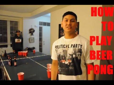 Вопрос: Как играть в бирпонг?