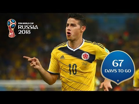 67 DAYS TO GO! Colombia's golden boy