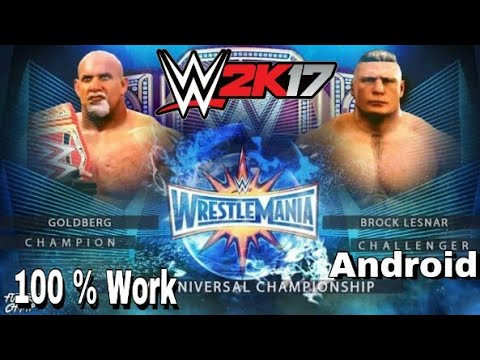 [Official Launch] How To Download WWE 2K17 For Your Android PPSSPP Emulator  With New High Graphics