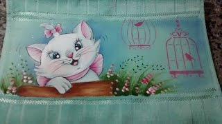 Vídeo aula – gatinha Marie – Com Jucineide Braga