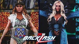 WWE Backlash 2018: Carmella vs. Charlotte Flair (SmackDown Women's Championship)