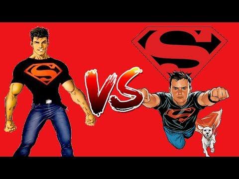 Superboy (Kon-El) vs Superboy (Krypto Assist) - M.U.G.E.N.