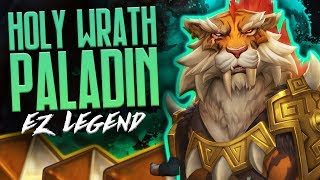 EZ Legend with Holy Wrath Paladin | Rise of Shadows | Hearthstone