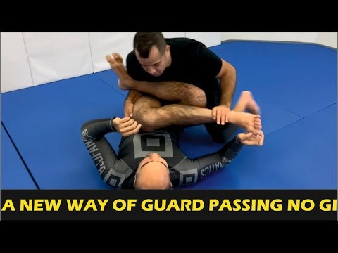 A New Way Of Guard Passing No Gi - The 50/50 With The Arms by Leo Vieira