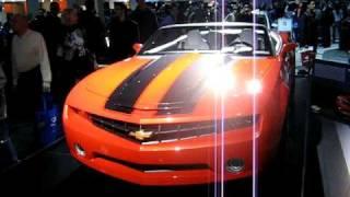 Chevrolet Camaro Convertible Concept (2008) Videos