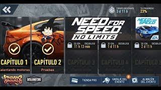 Need For Speed No Limits Android Jaguar XE SV Project 8 Capitulo 2 Pruebas