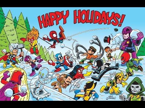 Joe Quesada and Idlechatter's MARVEL CHRISTMAS SONGS 2002-2006