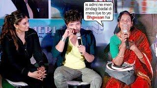 Himesh-Reshamiyan got EM0TI0NAL & Starts CRYING Listning To Ranu Mondal THANK Him For Everything