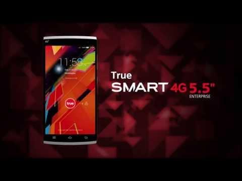 "True SMART 4G 5.5"" Enterprise จากทรูมูฟ เอช"