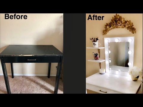 How to make your own vanity | DIY VANITY
